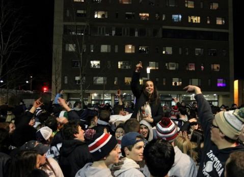 Storify: UMass celebrates Patriots' Super Bowl win