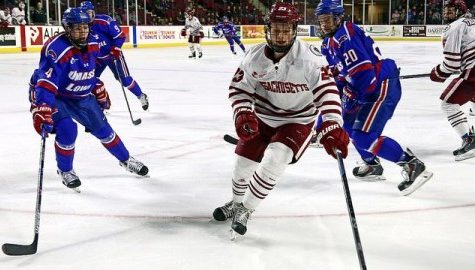 Maddison Smiley making an impact in new role for UMass hockey
