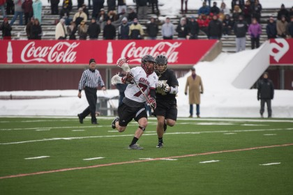First quarter woes sink UMass men's lacrosse in Grant Whiteway's return
