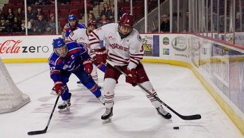 UMass lets lead slip away, ties UMass Lowell 3-3