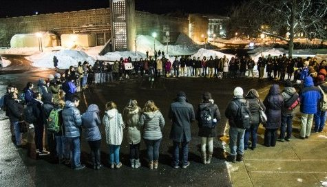 UMass gathers to mourn murdered UNC students