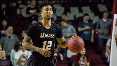 Trey Davis is shooting free throws at a near-record pace for UMass