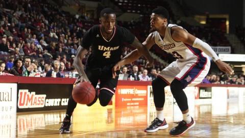 SLIDESHOW: UMass Basketball v. Duquesne