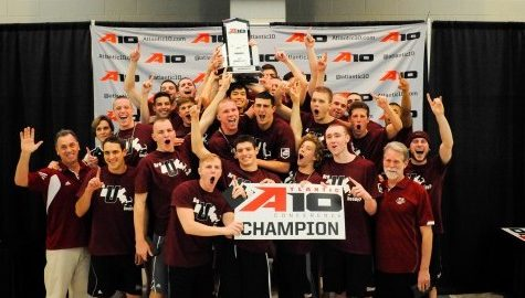UMass men's swimming and diving clinches 15th A-10 championship, women settle for second place
