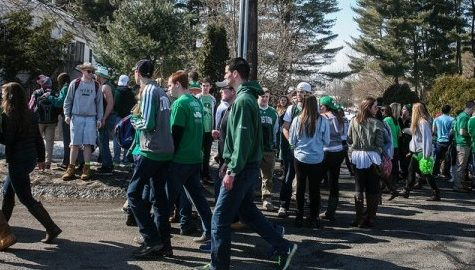 UMass announces parking restrictions for 'Blarney' weekend
