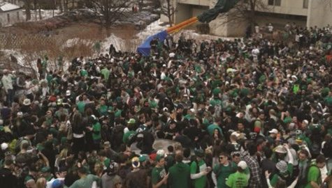 UMass, town of Amherst prepare for annual 'Blarney Blowout'