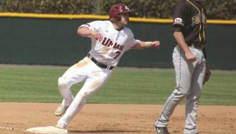 Robert McLam anxiously awaits his chance to lead UMass baseball's offense again in his return from an ACL injury