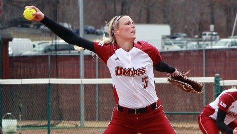 Coming off weekend victory, UMass softball prepares for series against St. Josephs
