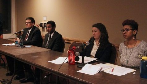 SGA presidential and vice presidential debates address campus-wide issues, despite low turnout and missing ticket