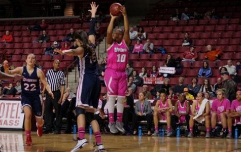 UMass closes out regular season on a high note with victory over URI