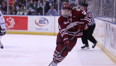 UMass travels to face Notre Dame in the Hockey East tournament