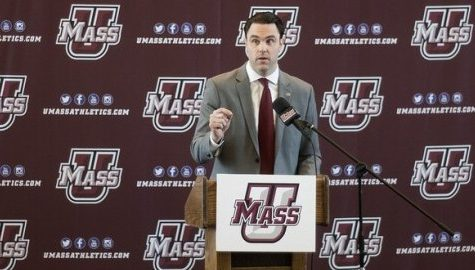 UMass eyes the future of its athletics with the hiring of Athletic Director Ryan Bamford