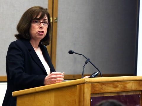 Professor Suzanne Mettler. (Robert Rigo/Daily Collegian)