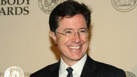Stephen Colbert at the Peabody Awards in 2012. (Anders Krusberg/Flickr)