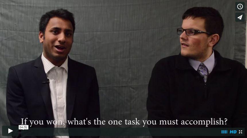 SGA Candidates: Rocco Giordano and Dhananjay (Danny) Mirlay Srinivas