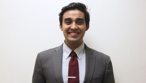 Student trustee candidate Kabir Thatte looks to create his own path as a UMass legacy student within SGA