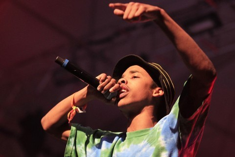 Rapper Earl Sweatshirt, real name Thebe Kgositsile, performs at the Coachella Music and Arts Festival in April 2013 in Indio, California. (Brian VanderBrug/Los Angeles Times/MCT)