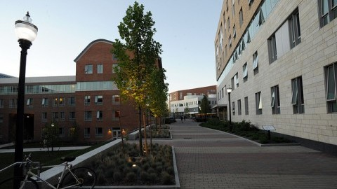 The Commonwealth Honors College residential area (James Jesson/Daily Collegian)
