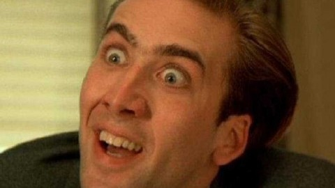 The one and only fabulous Nic Cage