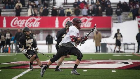 Led by Austin Spencer, defensive midfielders' play to be vital for UMass lacrosse down stretch