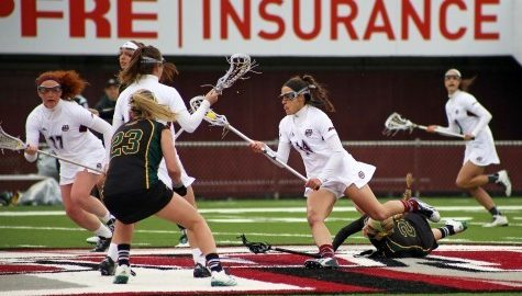 UMass women's lacrosse dominates Davidson 19-4 Sunday