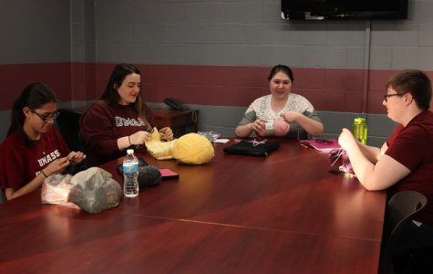 Knitting, Crocheting and Needlework Club sparks motivation for crafty students
