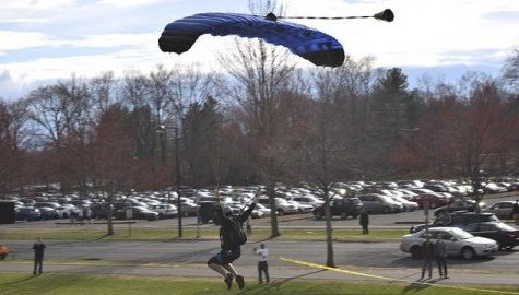 UM Skydiving Club encourages students to leap out of their comfort zone