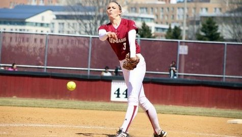 UMass softball sweeps St. Bonaventure behind strong pitching from Caroline Raymond