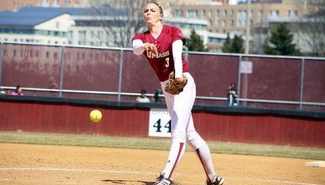 UMass softball sweeps St. Bonaventure behind strong pitching from Caroline Raymond