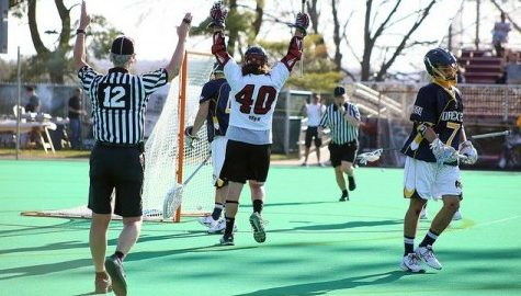 UMass men's lacrosse improves playoff chances with victory over Drexel