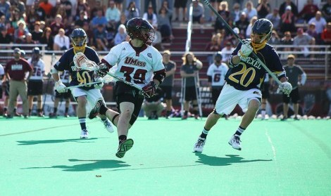 UMass lacrosse proves triumphant in return to Garber Field