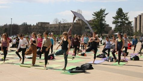Second annual yogathon stresses Earth Day ideals to individuals