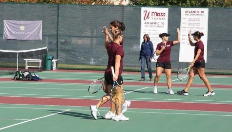 UMass tennis begins its bid for the Atlantic 10 title