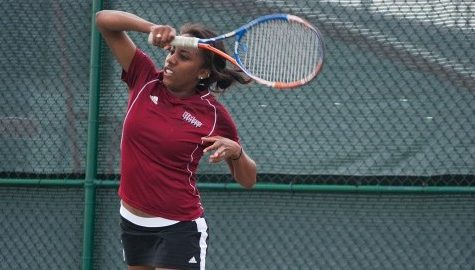 Chanel Glasper looks to go out on top for the UMass tennis team