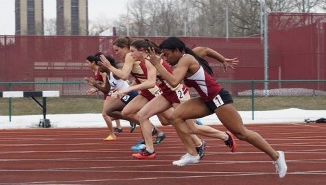 UMass track and field gains confidence amid improved outdoor conditions