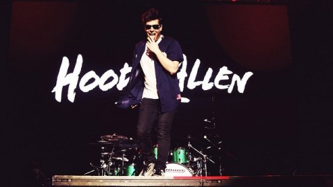 Hoodie Allen was the second performer at the 2015 Spring Concert (Christina Yacono/Daily Collegian)