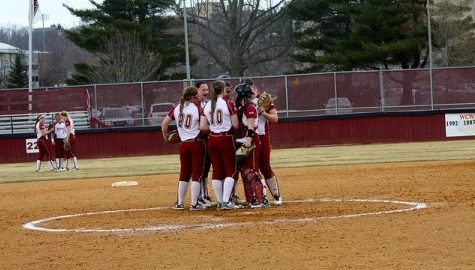 UMass softball clings to final tournament spot entering last week of season