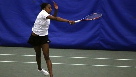 Chanel Glasper shines as UMass tennis ends season in dominant fashion