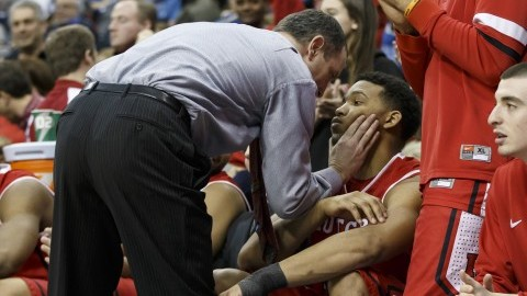 Mike Rice will squeeze the soul out of you. (Chris Szagola/Cal Sport Media via Zuma Press/MCT)