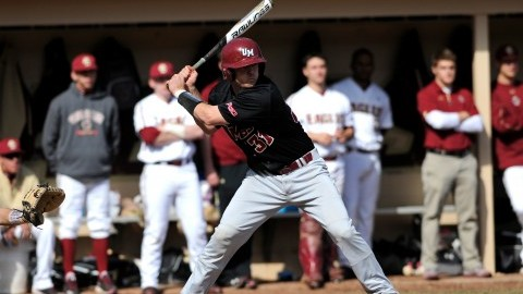 Junior Brandon Walsh  is ready to make a home run. (Courtesy of UMass Athletics)