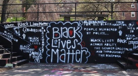 'Black Lives Matter' painting sparks controversy