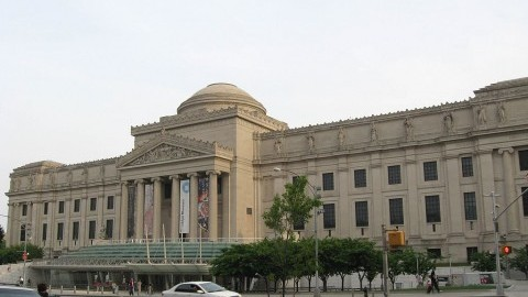 The Brooklyn Museum in 2008. It is the second largest art museum in New York.