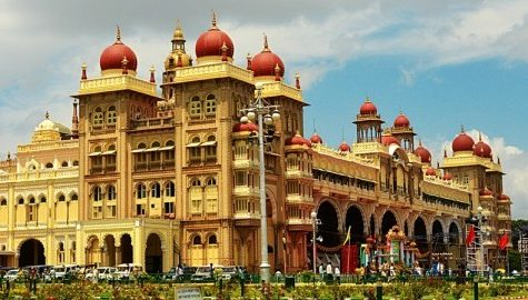 The Mysore Palace, India (photo - Jim Ankan Deka)