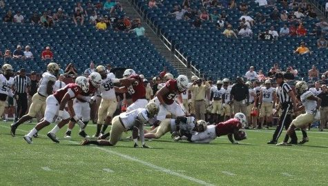 UMass football fall camp: Jamal Wilson returns from injury with confidence he is 'main guy' at running back