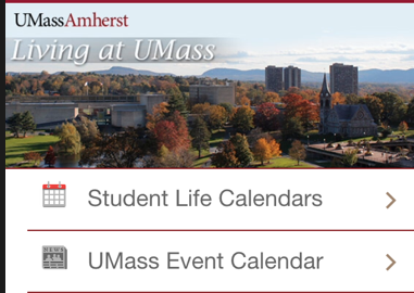 'Living at UMass' app aims to make move-in weekend a breeze
