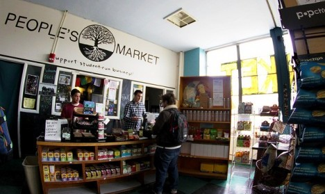 People's Market: arguably the best coffee on campus