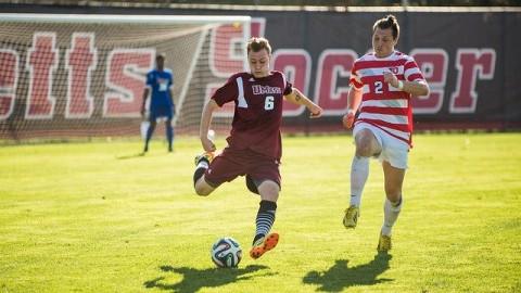 UMass soccer forward Josh Jess  Judith Gibson-Okunieff/Daily Collegian