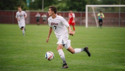 UMass men's soccer sees improvement despite sixth consecutive loss