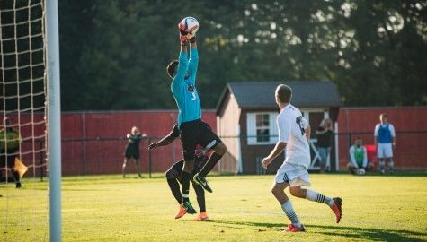 UMass men's soccer shut out by UNH Saturday night