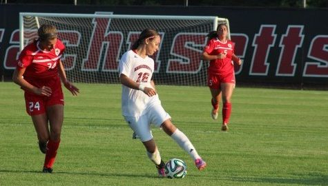 Jackie Bruno makes unexpected return in UMass' win Thursday